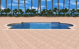 3d pool design sacramento folsom el dorado hills roseville for Pool design 3d software