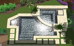 3D Design #003 by Wells Pools