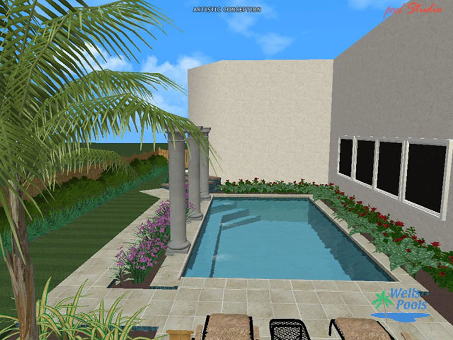 ... 3D Design #007 By Wells Pools ...