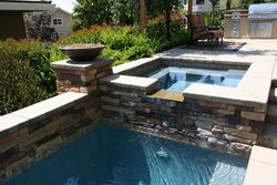 Custom Feature #011 by Wells Pools