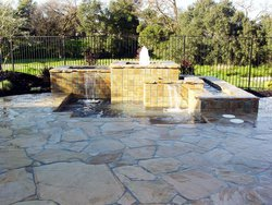 Custom Feature #018 by Wells Pools