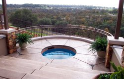 Custom Feature #025 by Wells Pools