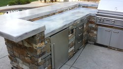 Custom Fireplace/Fire #020 by Wells Pools