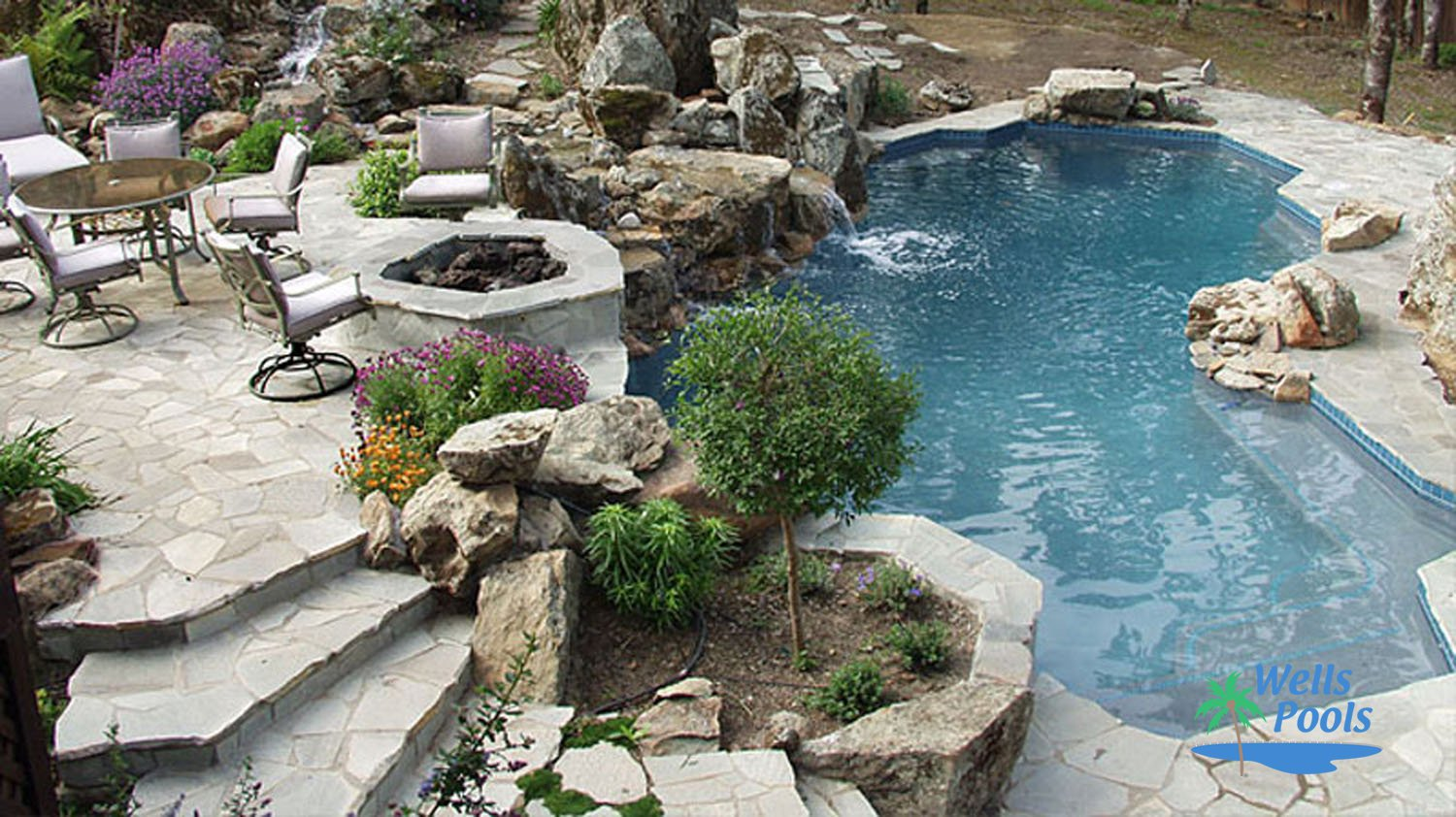 Freeform pool construction sacramento folsom el dorado for Pool design roseville ca