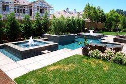 Geometric pool construction sacramento folsom el dorado for Pool design roseville ca