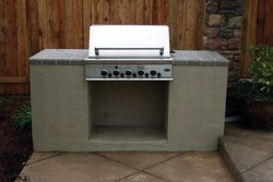 Custom Outdoor Kitchen #001 by Wells Pools