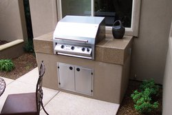 Custom Outdoor Kitchen #002 by Wells Pools