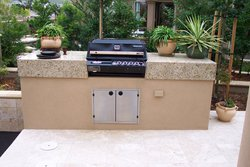 Custom Outdoor Kitchen #004 by Wells Pools