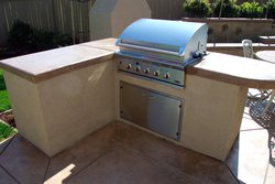 Custom Outdoor Kitchen #005 by Wells Pools