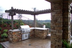 Custom Outdoor Kitchen #007 by Wells Pools