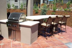 Custom Outdoor Kitchen #009 by Wells Pools
