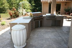 Custom Outdoor Kitchen #011 by Wells Pools