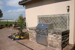 Custom Outdoor Kitchen #013 by Wells Pools