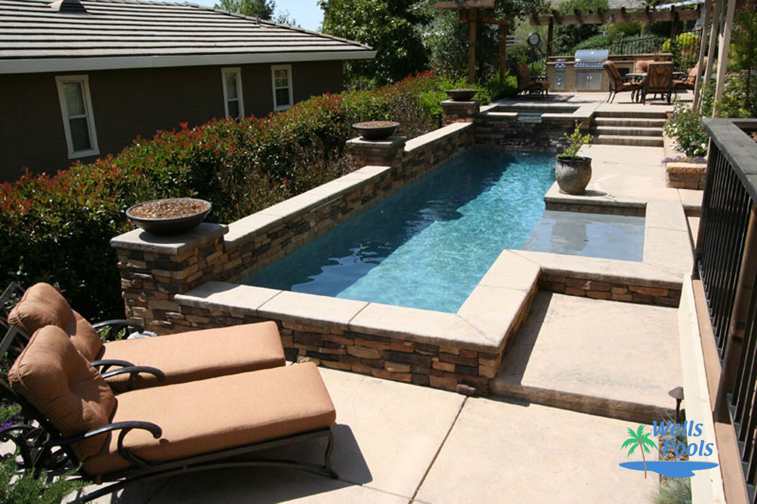 Small pool construction sacramento folsom el dorado for Pool design roseville ca