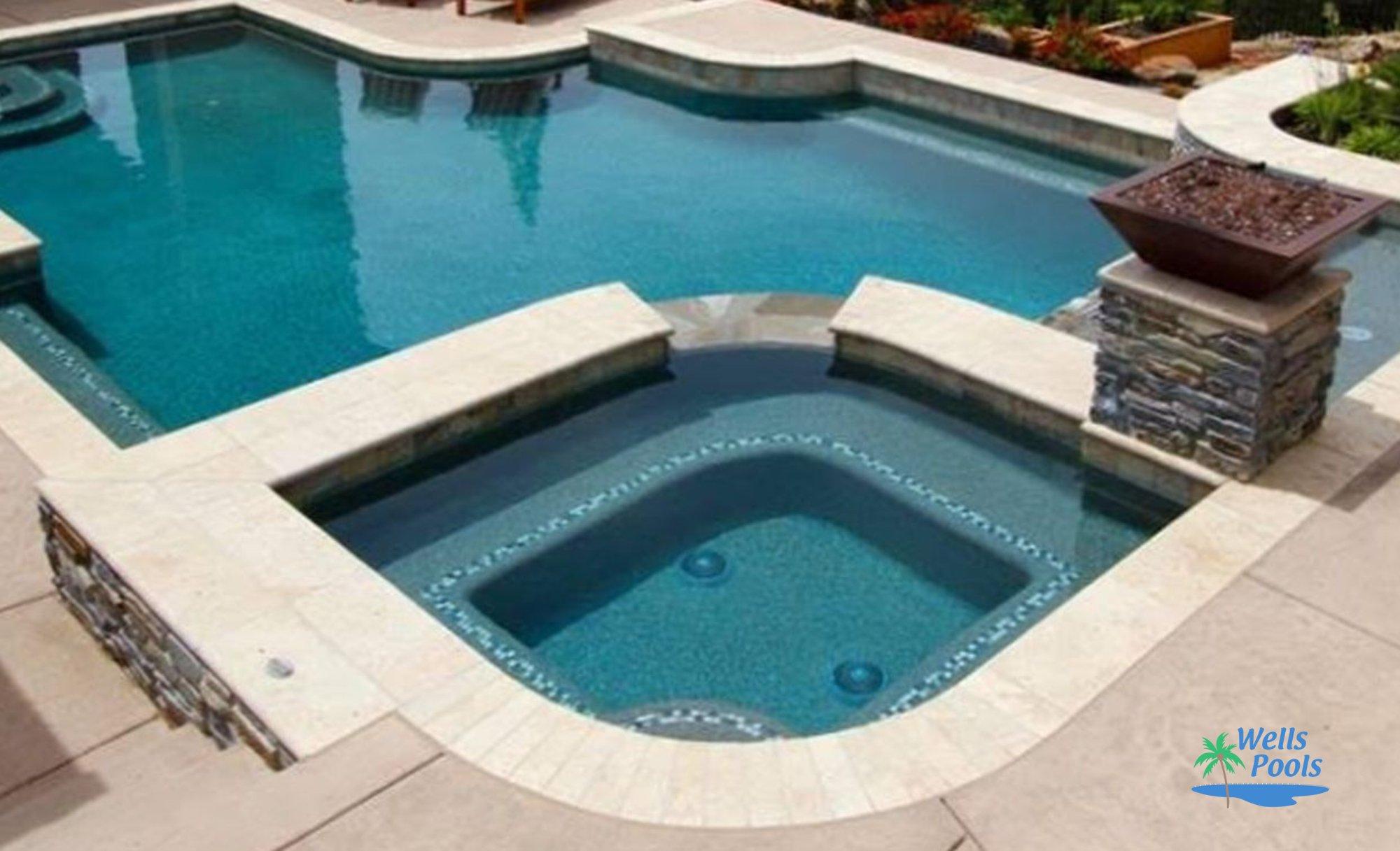 Inground spas construction sacramento folsom el dorado for Pool design roseville ca